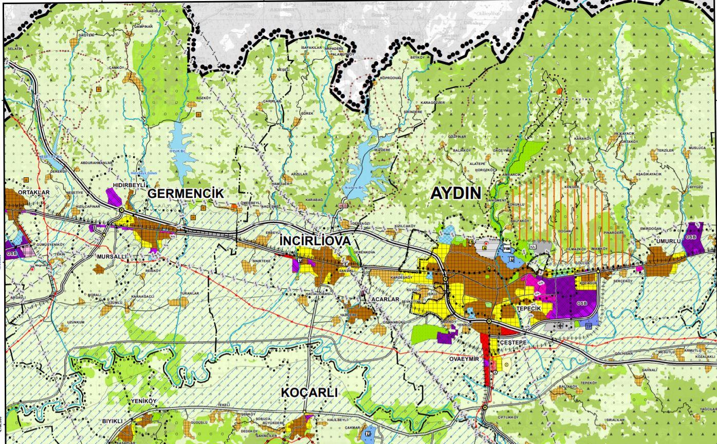 Aydın-Muğla-Denizli Planlama Bölgesi İmar Planı
