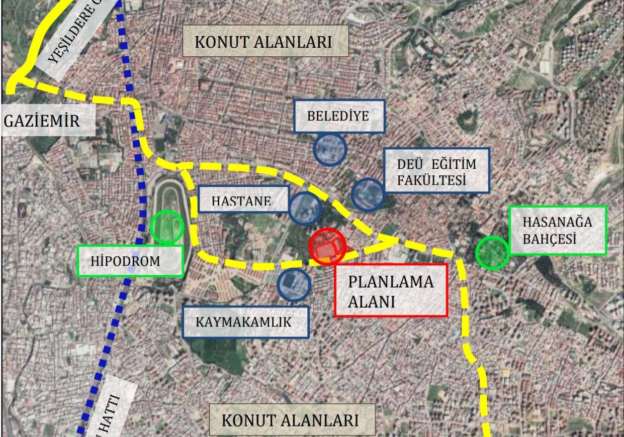 İzmir Buca İnönü Mahallesi İmar Planı Değişikliği