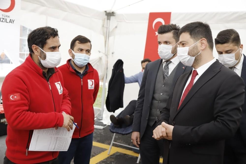 Kağıthane'de 4 günde 400 ünite kan toplandı