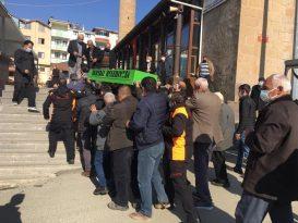 Kayseri'de Hayatını Kaybeden İtfaiyeci Son Yolculuğuna Uğurlandı
