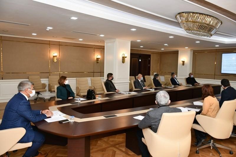KARÇEV Kasım Ayı Olağan Meclis Toplantısı Vali Gürel başkanlığında yapıldı