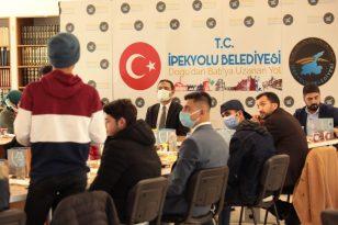 Kaymakam ve Belediye Başkan Vekili Aslan Gençlerle Bir Araya Geldi