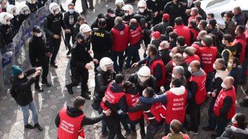 Kocaeli'den Ankara'ya Yürümek İsteyen İşçiler Gözaltına Alındı