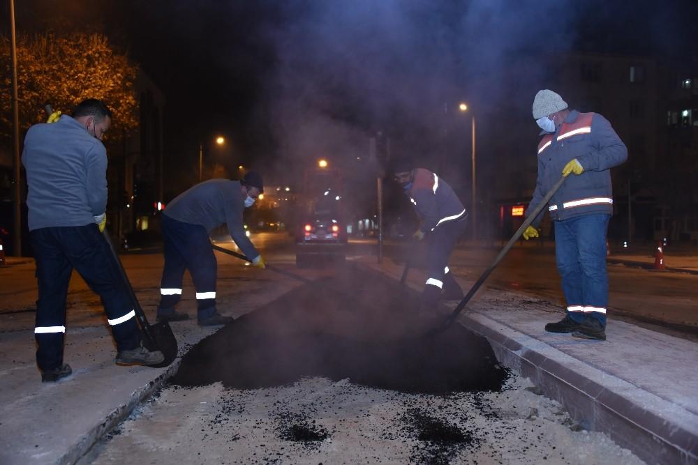 Konya'da kavşak düzenlemeleri ile trafik rahatlıyor