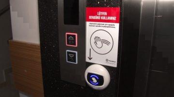 Koronavirüse Karşı Sesli Asansör