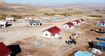 Malatya Deprem Evlerinde Son Aşama