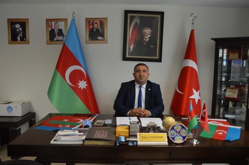 Manisa Azerbaycan Derneği'nden Başkan Ergün'e ve meclise teşekkür