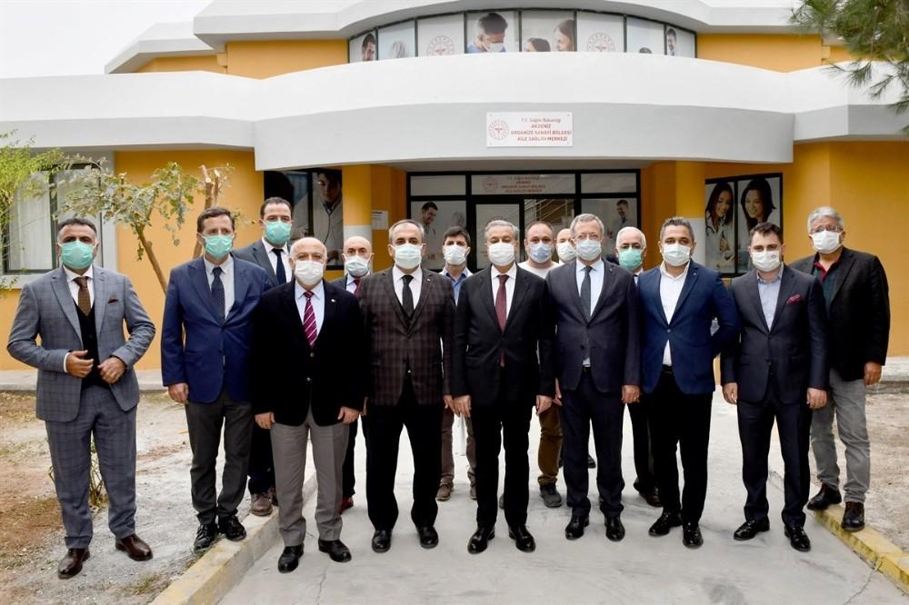 Mersin-Tarsus OSB'de Aile Sağlığı Merkezi hizmete girdi