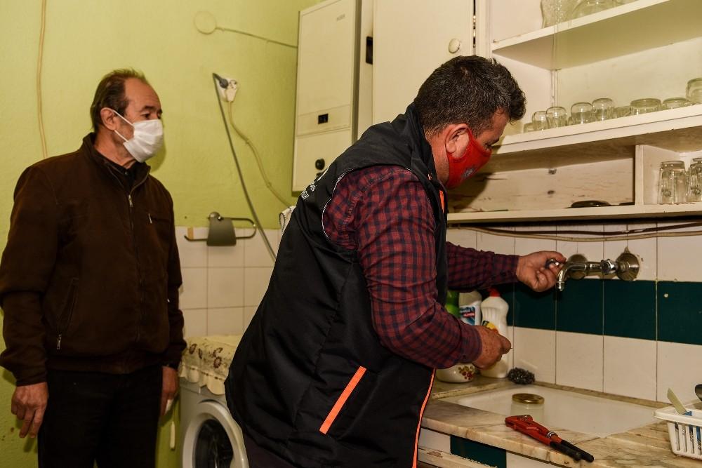 Mersin'de evde bakım hizmetlerinde arıza onarım ve tadilat uygulaması başladı