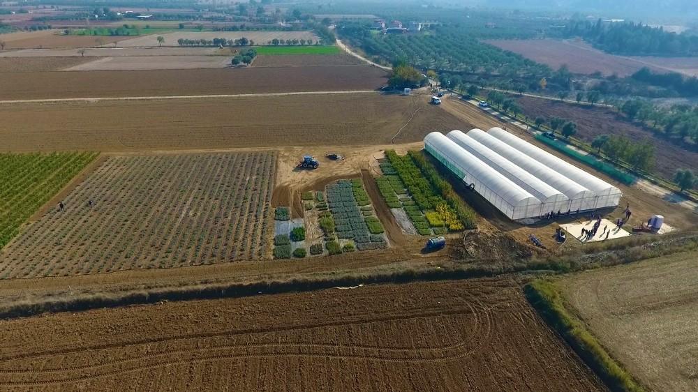 Muğla Büyükşehirden 'Akıllı Tarım' çiftliği