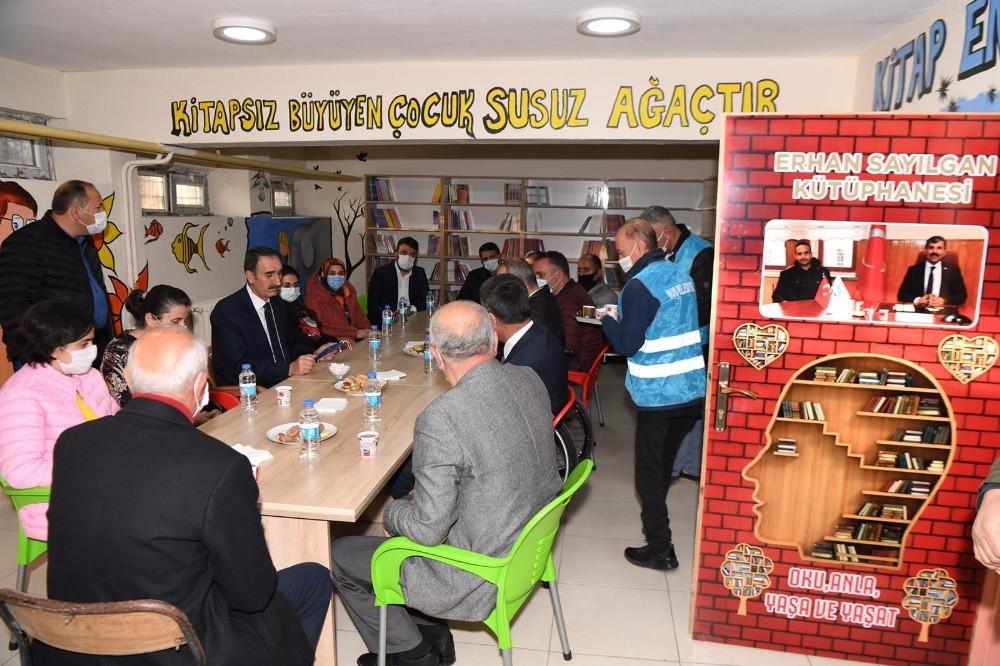 Muş Belediyesi merhum öğretmen Sayılgan adına kütüphane kurdu