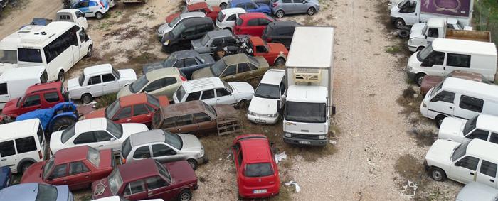 Milli Emlak Erzurum'da 13 Kamyonet ve Minibüs Satacak