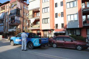Pamukkale'de Dezenfekte Hizmetlerine Devam