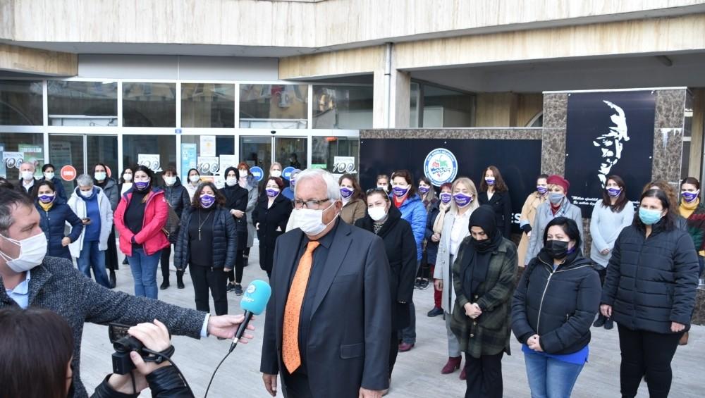 Posbıyık'tan 'Kadına şiddete hayır' etkinliği