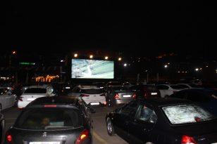 Rize'de Arabalı Sinema Etkinliğine Yoğun İlgi