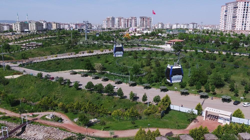 Gaziantep'te Yeşil Alanlar Arttırıldı