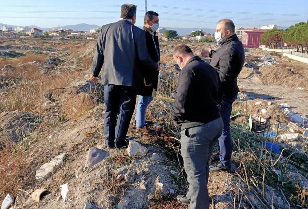 Manisa Saruhanlı'daki Hafriyat Kirliliği Ortadan Kaldırılacak