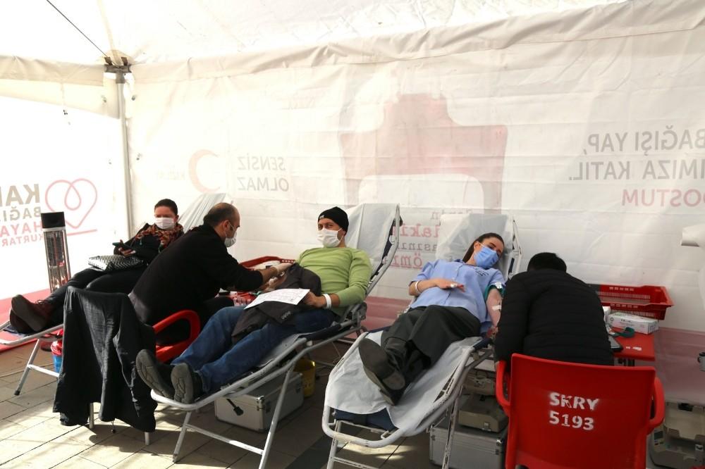 Sakarya'da Kan Bağışı Kampanyası