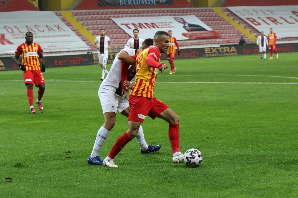 Hes Kablo Kayserispor: 0 – Fatih Karagümrük: 0 (Maç sonucu)
