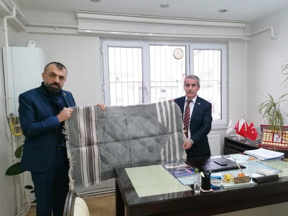 Malatya Tarım Platformu Başkanından Kızılay'a Ziyaret