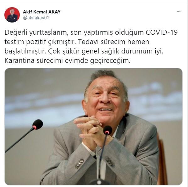 Adana Seyhan Belediye Başkanı Testi Pozitif