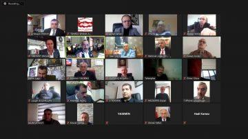 Türkiye genelinde emlak odalarının temsilcileri uzaktan eğitim programı kapsamında bir araya geldi