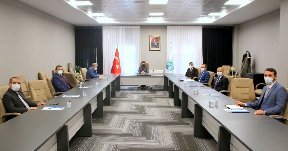 Kilis 7 Aralık Üniversinde Korona Toplantısı
