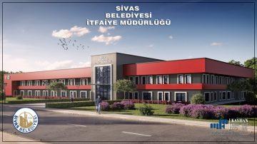 Sivas Yeni İtfaiye Binası Eylül 2021'de Hizmete Girecek