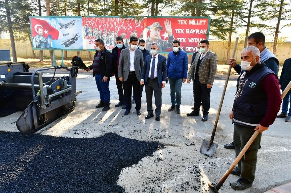 Yeşilyurt Belediyesi, kış öncesinde çalışmaları hızlandırdı