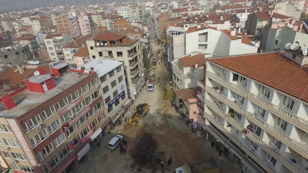 Zağnos Paşa Meydanı Düzenlemesinde İlk Adım Altyapı