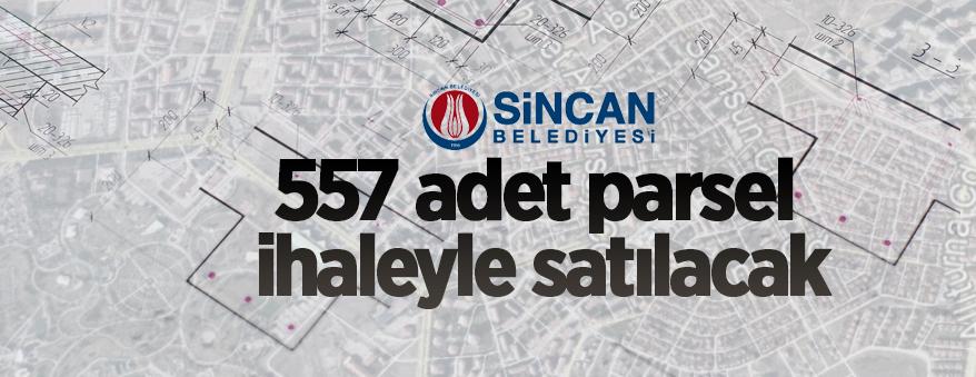 Ankara Sincan'da 557 adet küçük sanayi Parseli Satışa Çıkarıldı