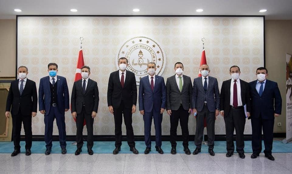 Adıyaman heyetinin Ankara'da temasları devam ediyor