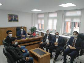 Ağrı Yurt Ay Der Başkanı Çirik'ten Vali Yardımcısı Ersöz'e Ziyareti