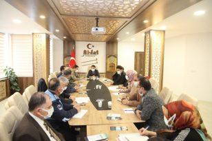 Ahlat'ta bağımlılıkla mücadele toplantısı