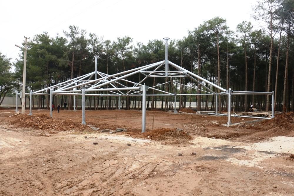 Akçakale'nin ilk düğün salonunda inşaat başladı