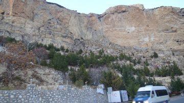 Akdeniz açıklarındaki 5.2'lik deprem Karaman'da kayaları yerinden oynattı