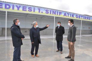 Akşehir Belediyesinden 1. Sınıf Katı Atık Getirme Merkezi