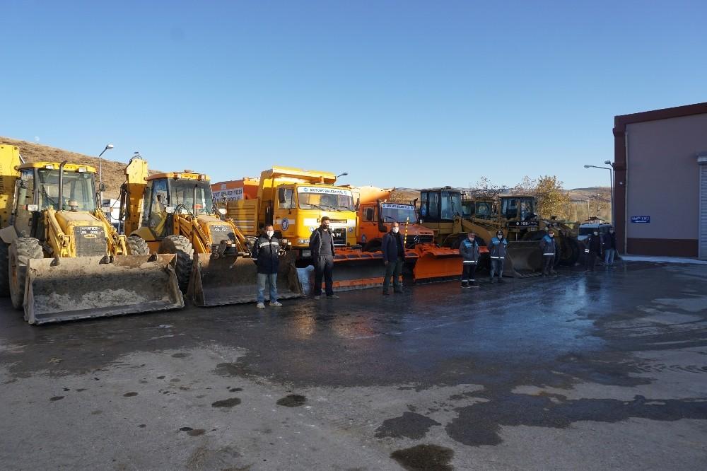 Ankara'nın Akyurt Belediyesi Kışa Hazır