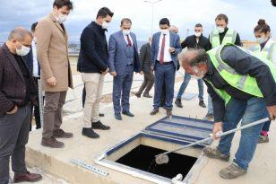 Alaşehir AAT'de arıtılan atıksu içme suyu berraklığına getiriliyor