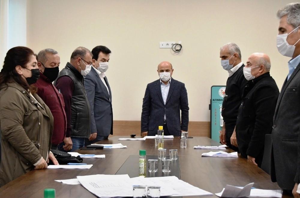 Altınova Belediye Meclisi 2020 Aralık oturumları tamamlandı