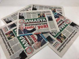 Amasya Belediyesi'nin Gazetesi 10.Sayısı Yayımlandı