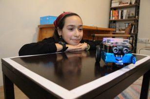Amasyalı öğrenciler robotik kodlamayı emanet robotlarla evlerinde öğreniyor
