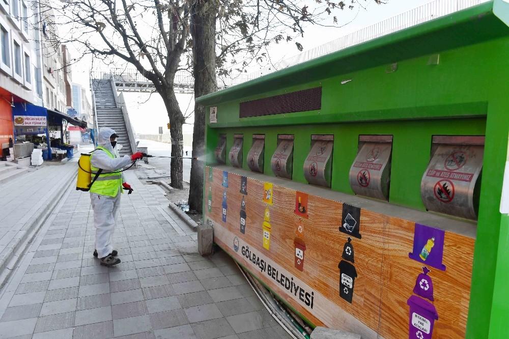 Ankara Büyükşehir Belediyesi hijyen çalışmalarını artırdı