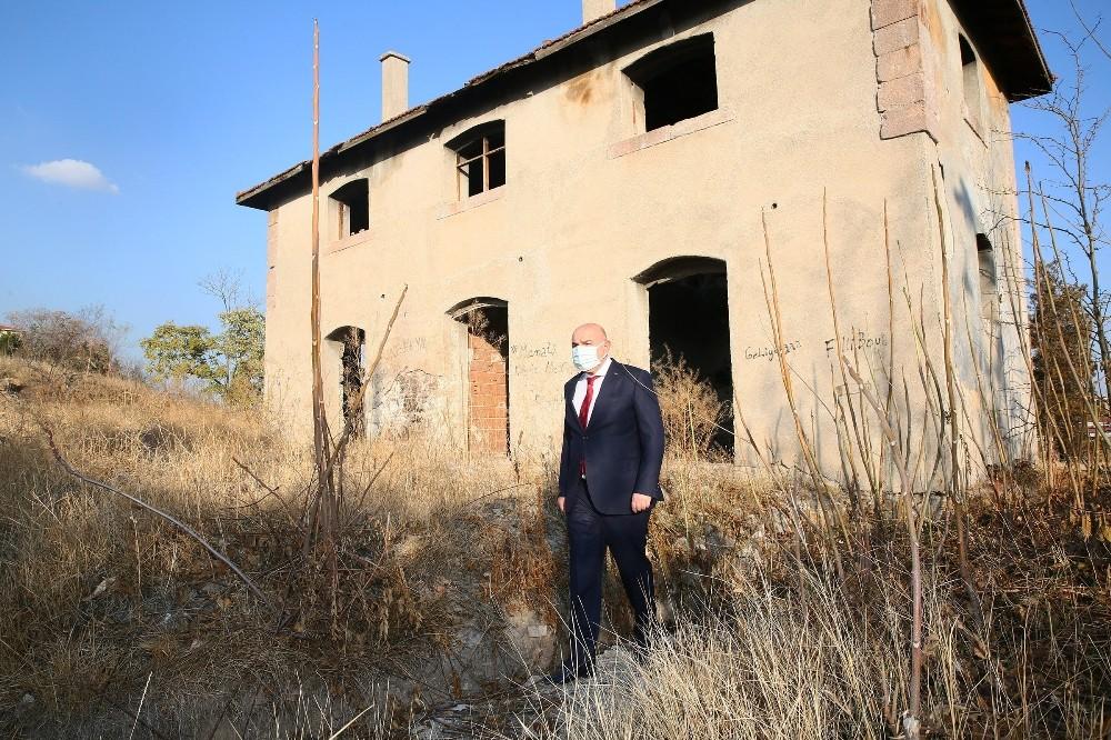 Atatürk'ün Milli Mücadele sırasında karargah olarak kullandığı yer restore edilerek ziyarete açılacak