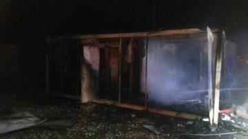 Ayvacık'taki ev yangınında yaşlı kadın feci şekilde can verdi