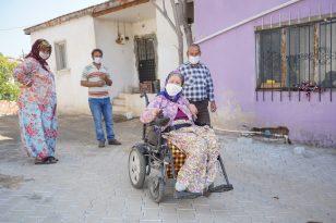 Ayvalık Belediyesi engellileri unutmuyor