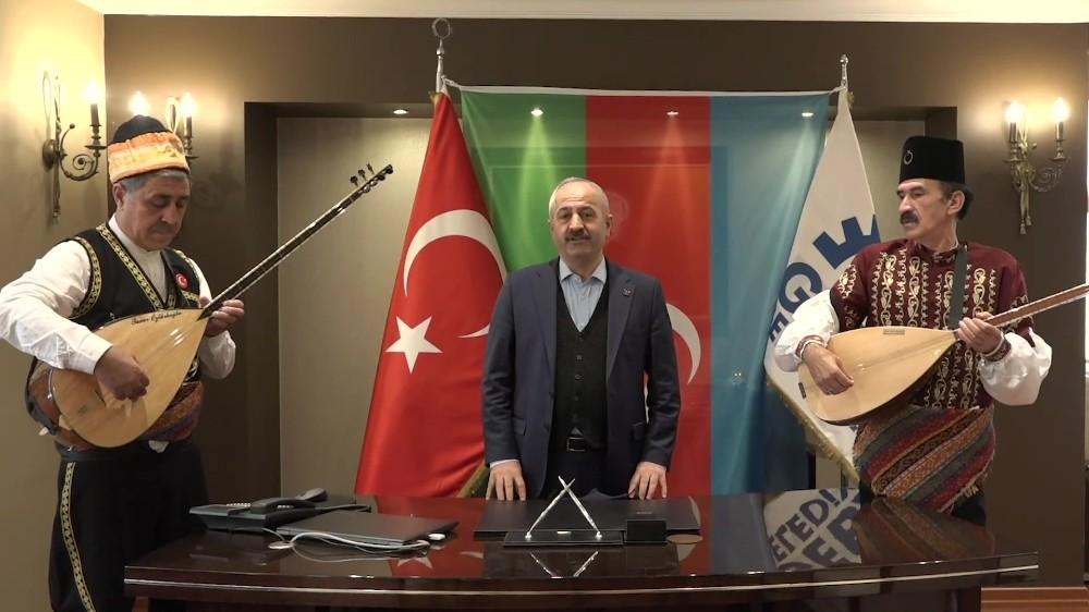 Azerbaycan'ın Karabağ Zaferi Gebze'de Kutlandı