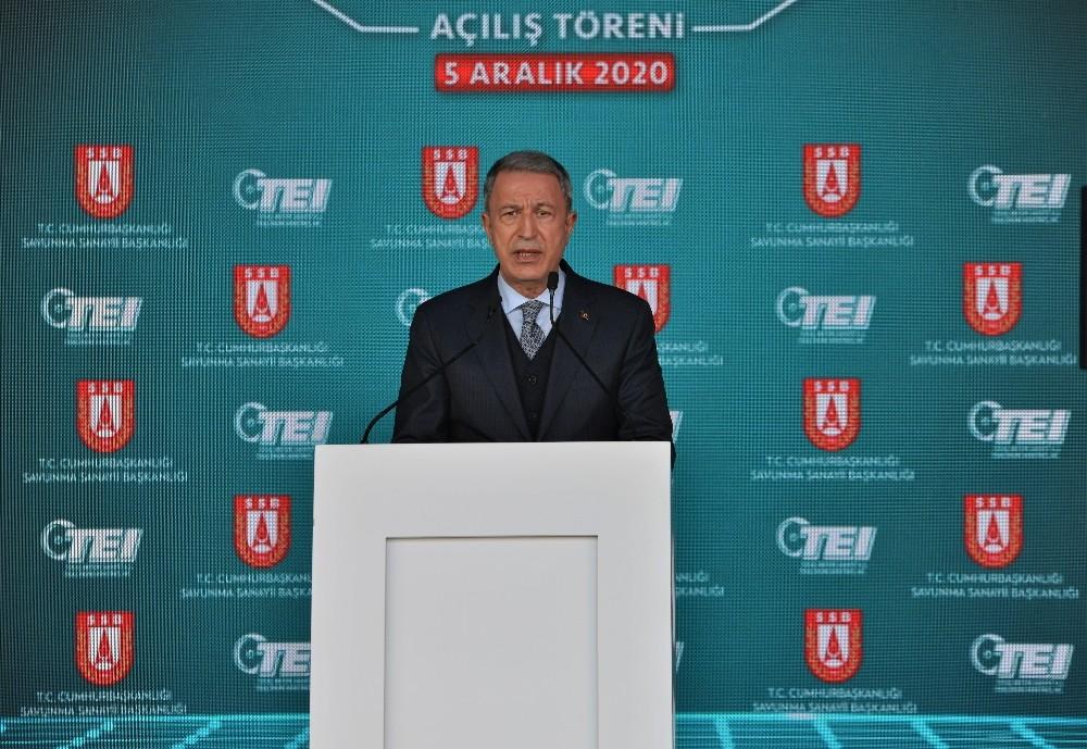 """Bakan Akar: """"Azerbaycan ordusu Karabağ'ı Ermenistan işgalinden yerli ve milli silah sistemlerimizin de katkısıyla kurtarmıştır"""""""