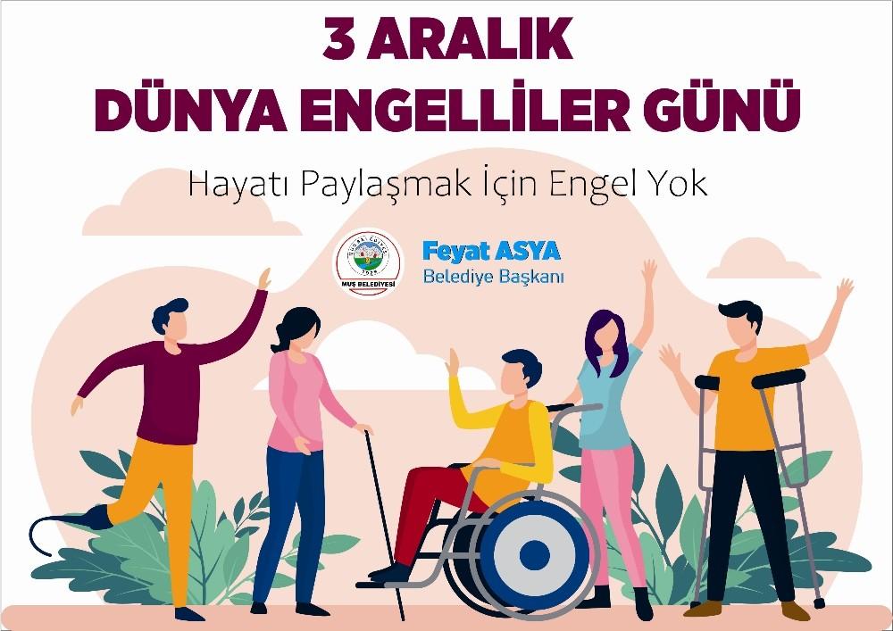 Başkan Asya'dan Dünya Engelliler Günü mesajı