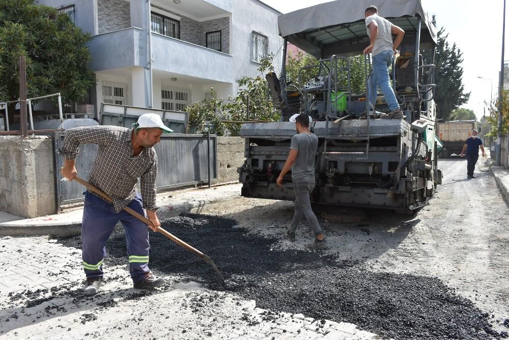 """Başkan Bozdoğan: """"Asfaltlama çalışmalarımız hız kesmeden devam ediyor"""""""